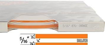 """3//16 x 150 Universal TFX 0003046 - 046-Chrome Mirror Auto Customizing Dual Pinstripe 1//16/"""" Stripe, 1//16 Gap, Then 1//16/"""" Stripe"""