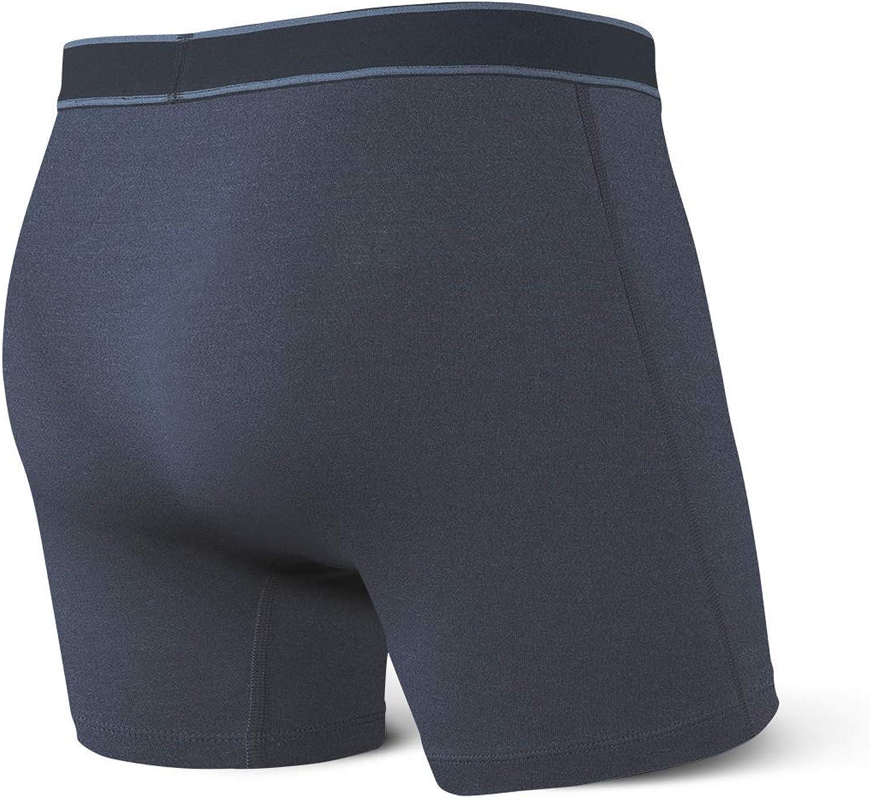 Saxx Underwear Mens Boxer Briefs Daytripper Boxer Briefs with Built-in Ballpark Pouch Support