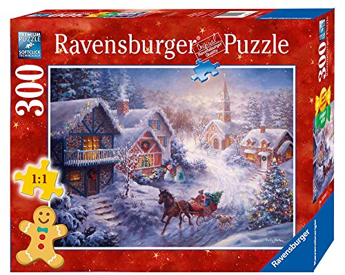 Ravensburger Dashing Through the Snow, Large Piece Format, 300 Piece Puzzle