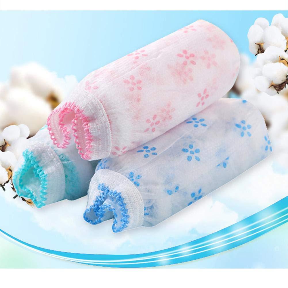 Damen Einweg Unterw/äsche f/ür Krankenhaus Mutterschaft Schwangerschaft Post Partum Travel Massage Wear 7er Pack Damen Einmal Slip aus Baumwolle