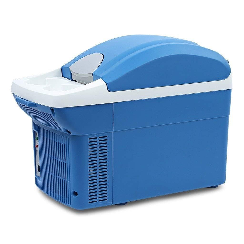 JGWJJ 12V Thermoelectric RV Car Cooler Warmer Portable Mini Truck Refrigerator 110V Office Home Food Heater Beverage Cooler Fridge,8L by JGWJJ