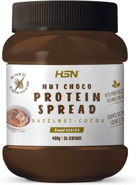 Crema Hiperproteica de Cacao y Avellanas de HSN   NutChoco con ...