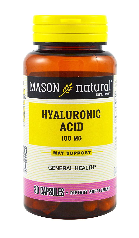 Mason Hyaluronic Acid 100MG - 30 ct, Pack of 5