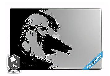 ... de dragones arte vinilo adhesivo para Apple MacBook Dell HP Asus Acer Alienware o cualquier ordenador portátil Notebook PC ordenador: Amazon.es: Hogar