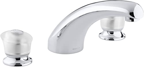 KOHLER K-T15290-7-CP Coralais Deck-Mount Bath Faucet Trim, Polished Chrome