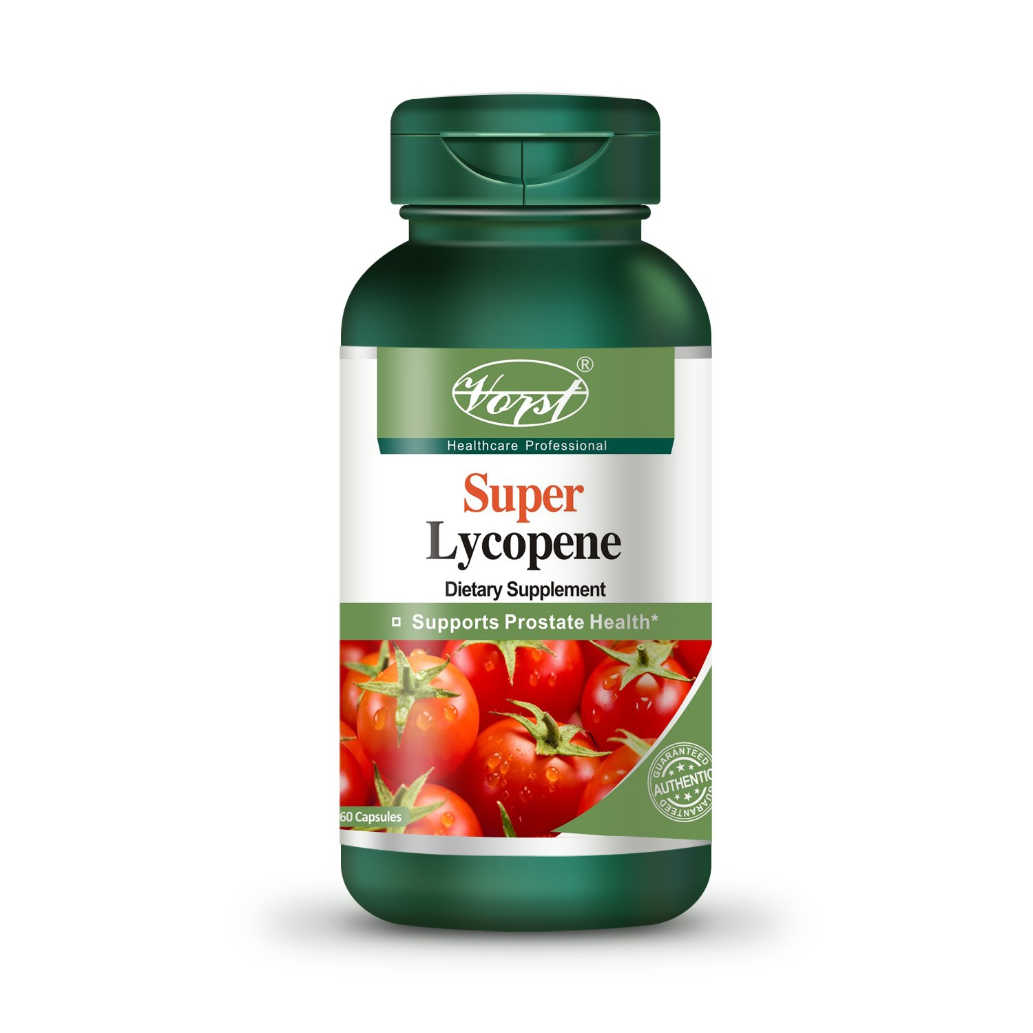 Vorst Lycopene with Zinc and Selenium 30mg 60 Capsules Carotenoids Supplement for Prostate and Heart Health Support Powerful Antioxidant Immune System Cardiovascular Licopeno