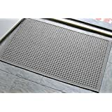 Andersen 280 Waterhog Fashion Polypropylene Fiber Entrance Indoor/Outdoor Floor Mat, SBR Rubber Backing, 3-Feet Length X 2-Feet Width, 3/8-Inch Thick, Medium Grey