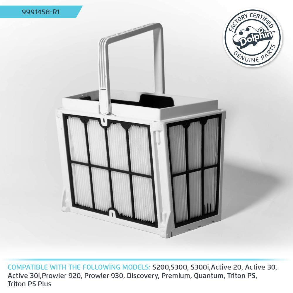 Dolphin Ultra-fine Filter Basket by Dolphin