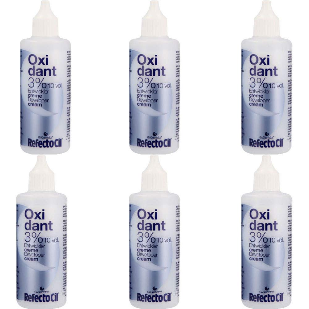REFECTOCIL Oxidant 3% Developer Cream 100ml QTY 6