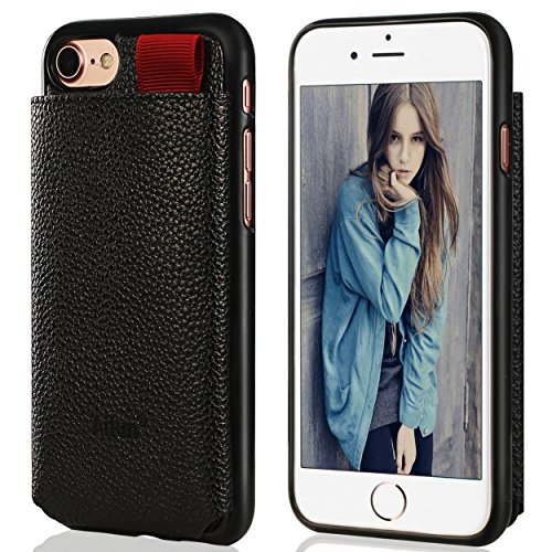 Leather Multiple Compartment Shock Absorption Anti Scratch