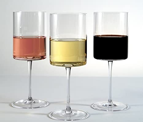 Opulent Wine Glass Set Of 4 Perfect For Drinking Red And White Wine Made From 100 Lead Free Crystal 15oz Drink Your Wine In Style With