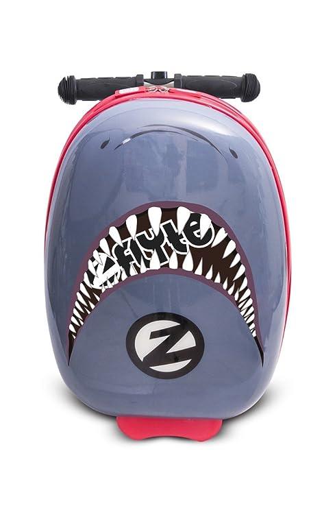 Flyte Zinc Funda para Scooter, diseño tiburón.