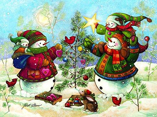 Cobble Hill 54352 - Holiday sparkle - puzzle per bambini 275 pezzi