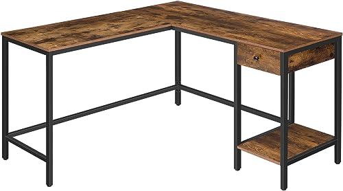 Reviewed: HOOBRO L-Shaped Computer Desk