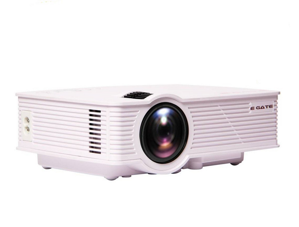 EGATE i9 LED HD PROJECTOR (White) - HD 1920 X 1080 – HDMI –