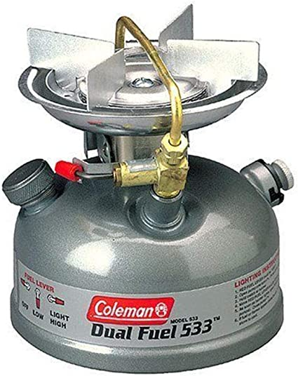 Qiaoden Coleman Sportster II Estufa de Doble Combustible ...