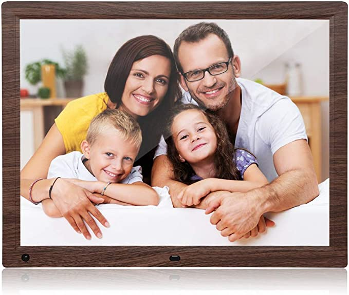 FEIFEIJ 10 inch Digital Photo Frame HD LED Picture Videos Frame,MP3//Calendar//Clock//E-book