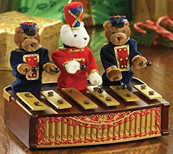 Mr. Christmas Bandstand Bears
