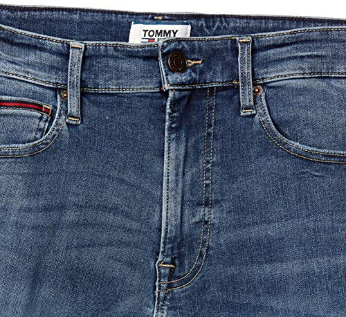 Tommy Hilfiger Men's Skinny Fit Jeans 2021 July Care Instructions: Machine Wash Fit Type: Skinny Color: Denim Dark 01