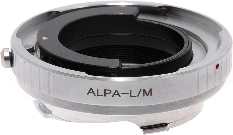Adapter per obiettivi Alpa su fotocamera Leica M Adattatore LM-Alpa.