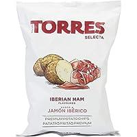 Torres Selecta Iberian Ham Potato Chips, 150g