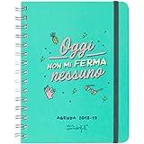 Mr. Wonderful Agenda Annuale Sketch Settimanale 18-19 Oggi Non Mi Ferma Nessuno