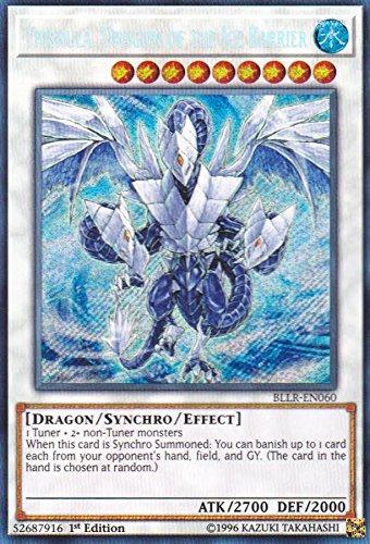 Ice Legend - Trishula, Dragon of the Ice Barrier - BLLR-EN060 - Secret Rare - 1st Edition - Battles of Legend: Light's Revenge (1st Edition)