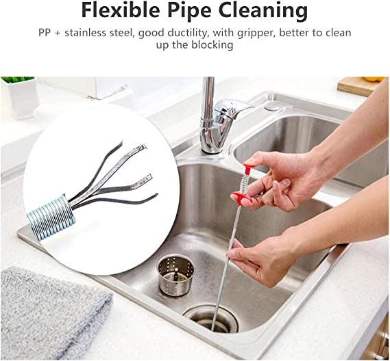 Details about  /Multifunctional Cleaning Claw Buy More Save More Pipe Dredging Hook Remover