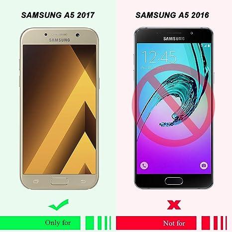 6 x Coque Galaxy A5 2017 Silicone, SpiritSun Souple TPU Étui ...