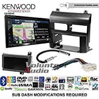 Volunteer Audio Kenwood Excelon DNX694S Double Din Radio Install Kit with GPS Navigation System Android Auto Apple CarPlay Fits 1988-1994 Blazer, Silverado, Suburban