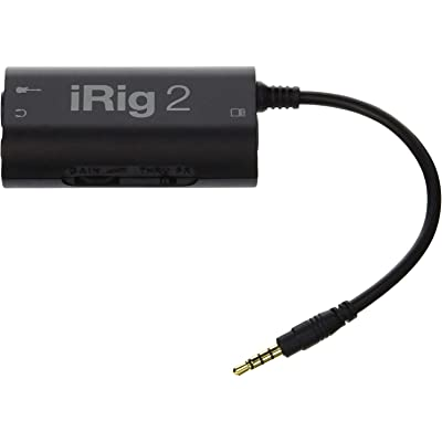53/5000  IK Multimedia iRig 2 Mobile Guitar Interface- Negro