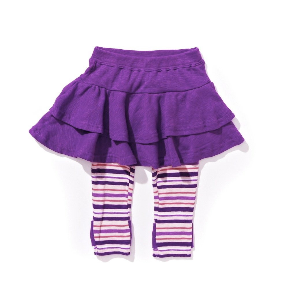 Lazoo Baby-girls Solid Skegging