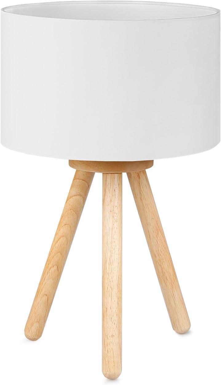 Tomons Wood Tripod Table Lamp