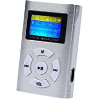 Zippem Monochrome Screen Button Plug-in Card Portable Mini MP3 & MP4 Players (various colors)
