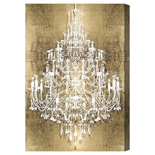 """The Oliver Gal Artist Co. 'Montecarlo Gold' Canvas Art, 20""""x30"""""""