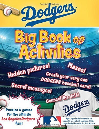Los Angeles Dodgers: The Big Book of Activities (Hawk's Nest Activity Books) by Sourcebooks Jabberwocky (Image #2)