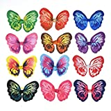 """Yagopet 24pcs/12 Pairs New Dog Hair Bows Rubber Bands Butterfly Nice Dog Topknot 2.8"""" Durable Small Bowknot Pet Grooming Products Accessories"""