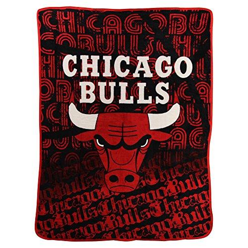NBA Redux Super Soft Plush Throw Blanket (Chicago Bulls)
