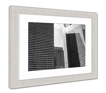 Amazon.com: Ashley Framed Prints Urban Chicago Skyscaper Landscape ...
