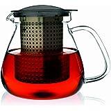 Finum Tea Control 1.0 with Dark Basket, Black