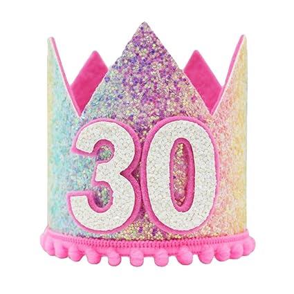 F Fityle Sombrero de Fiesta de Cumpleaños de Adultos con ...