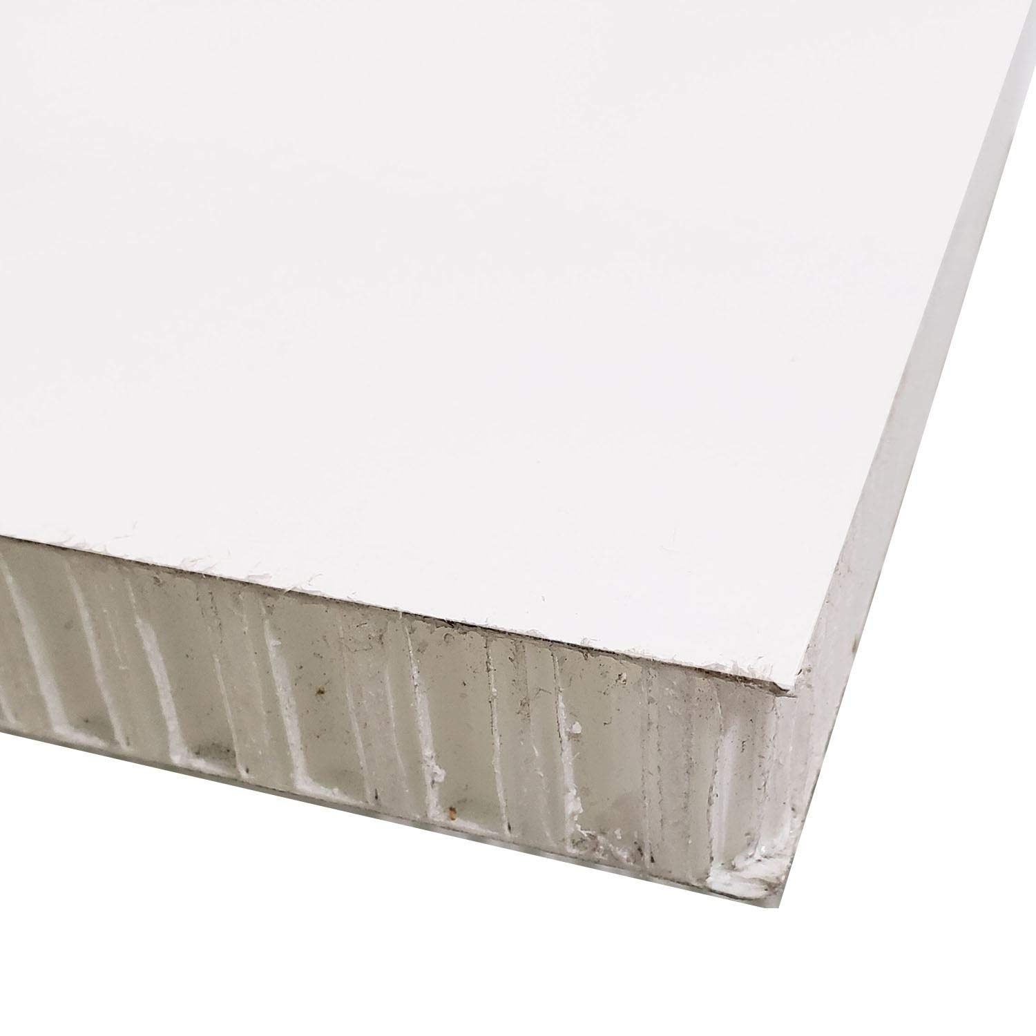 Online Metal Supply FRP Honeycomb Panel, 0.500'' (1/2'') x 12 inches x 24 inches, White by Online Metal Supply