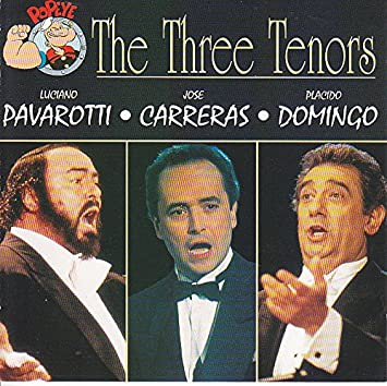 Three Tenors - Luciano Pavarotti, Jose Carreras, Placido Domingo ...