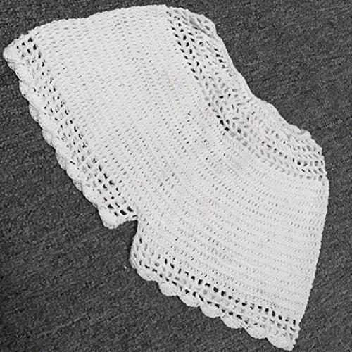 Vovotrade Short Crochets Femmes Ttaille élastique Plage Bandage Hot Pants Chort pour Loisirs de Plage