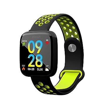 TYWZF Montre Connectée Smart Watch Mode Natation Moniteur De Fréquence Cardiaque Pression Artérielle pour iOS Android