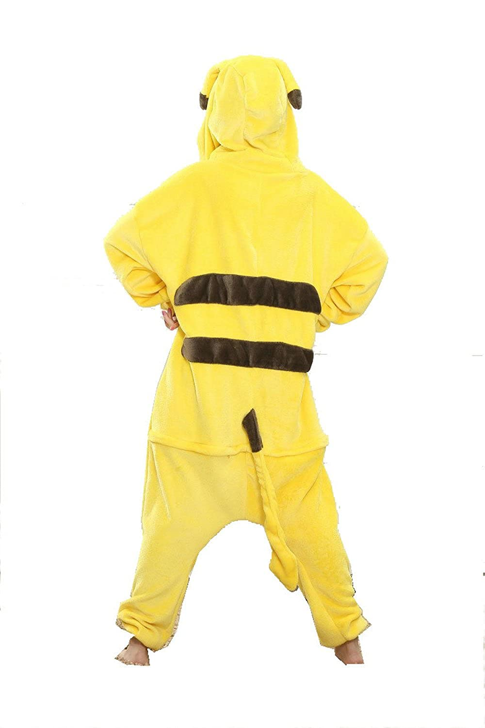 Amazon.com: Pikachu Adult Unisex Animal Kigurumi Cosplay Costume Pajamas Onesies: Clothing