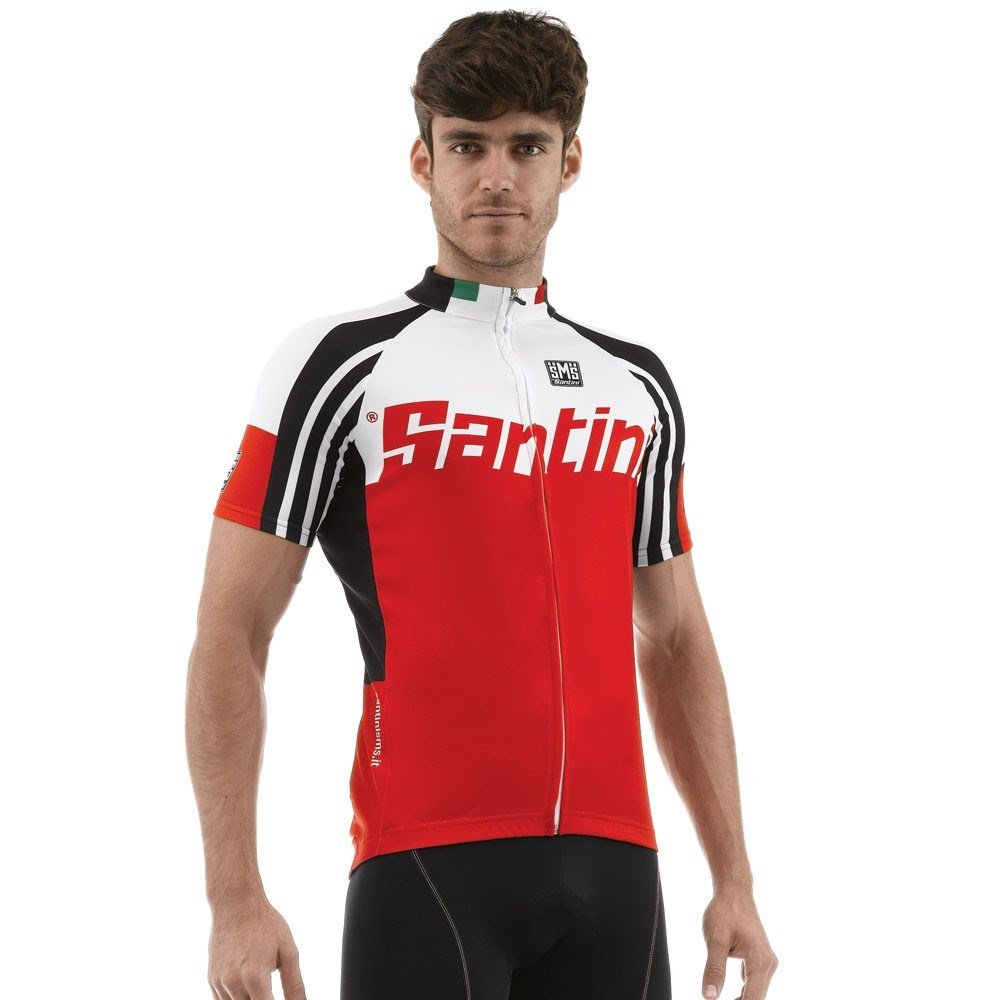 Santini Zest Full Zip Short Sleeve Jersey – SP