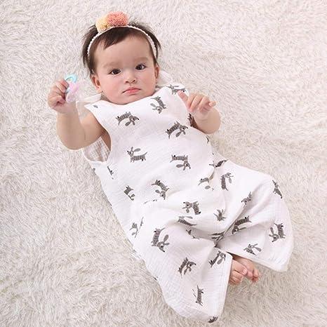 Bebé Saco De Dormir,cochecito de bebé Niños Saco de dormir Kid chaleco del bebé del sueño del saco de pañales para capullo Manta recién nacido, sin mangas, XL: Amazon.es: Bebé