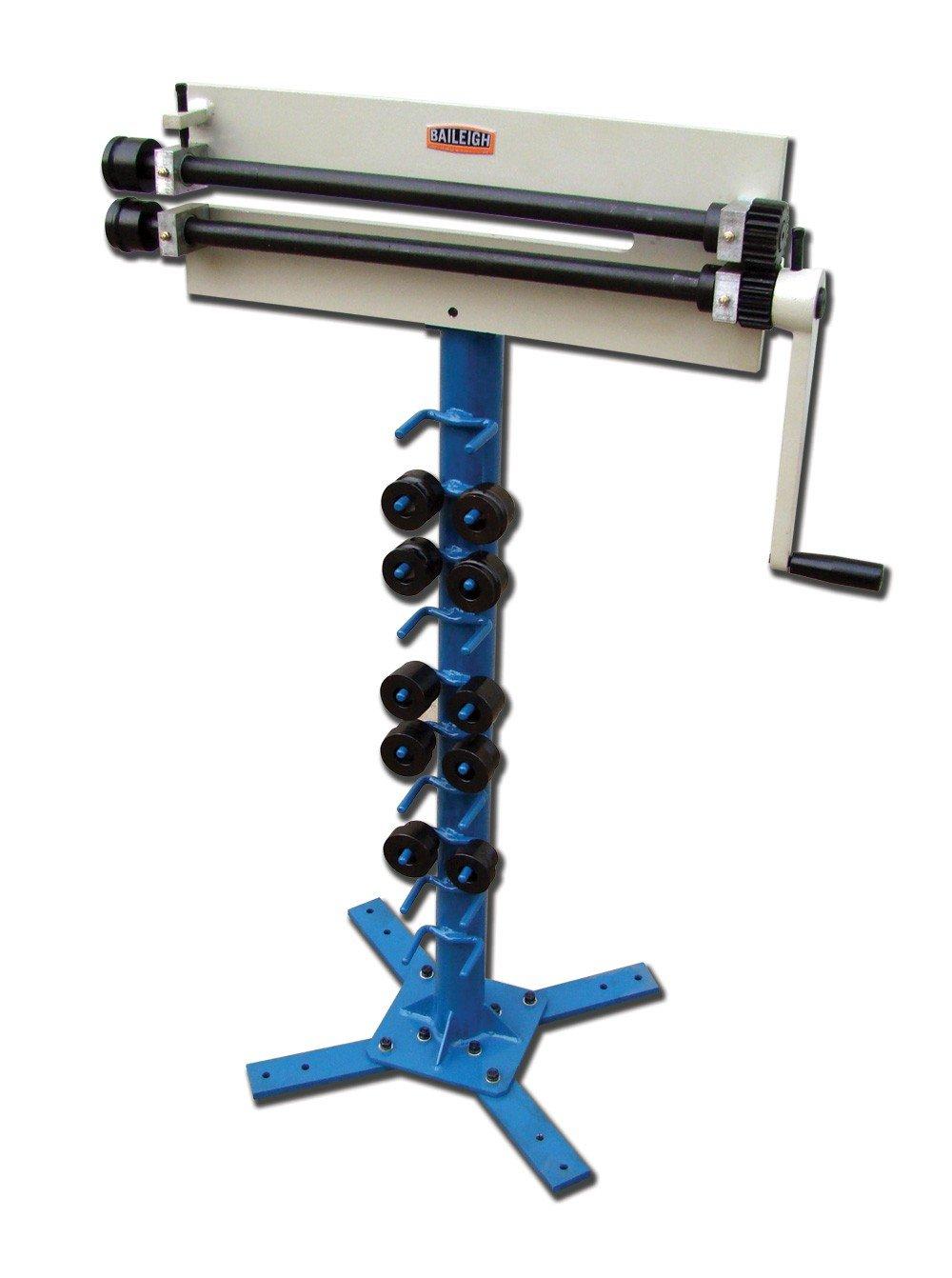 Baileigh BR-18M-18 Steel Bead Roller Machine, 18'' Throat Depth, 18-Gauge Capacity