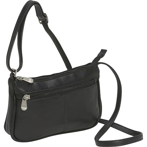 Le Donne Leather Top Zip Mini Cross Body Bag d86d644acf7bd